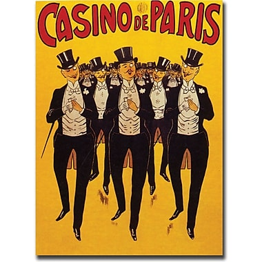 Trademark Global in.Casino de Parisin. Canvas Art, 18in. x 24in.