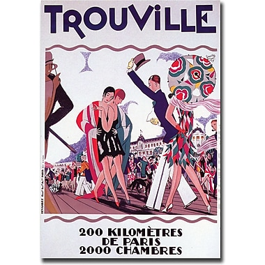 Trademark Global in.Trouvillein. Canvas Art, 24in. x 32in.