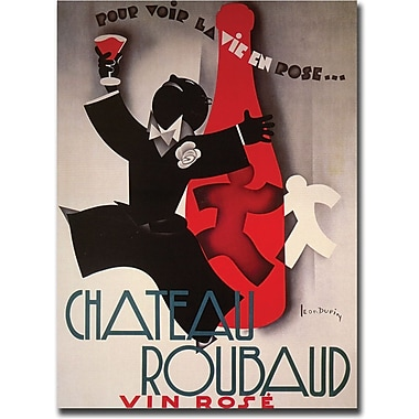 Trademark Global in.Chateau Roubardin. Gallery Wrapped Canvas Art, 24in. x 32in.