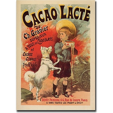 Trademark Global in.Cacao Lactein. Canvas Art, 24in. x 32in.