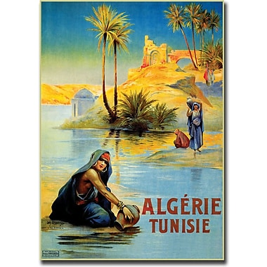 Trademark Global in.Algerie Tunisiein. Canvas Art, 35in. x 47in.