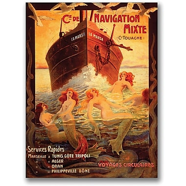 Trademark Global in.Cia Navigationin. Gallery Wrapped Canvas Art, 18in. x 24in.