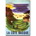 Trademark Global Villemont in.La Cote Basquein. Canvas Art, 24in. x 32in.
