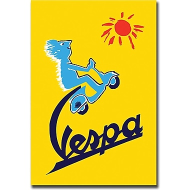 Trademark Global in.Vespain. Canvas Art, 24in. x 32in.