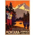 Trademark Global in.Montanain. Giclee on Canvas Art, 18in. x 24in.