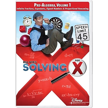 Bill Nye's Solving for X: Pre-Algebra, Volume 1 Classroom Edition