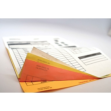 REIMAGE™ RE811CFB 1-Part Middle Sheet Carbonless Laser Paper, Pink, 8 1/2in.(W) x 11in.(L)