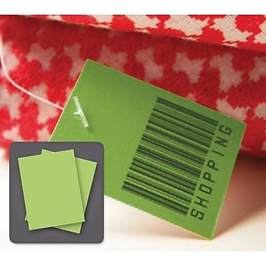 REVLAR™ 505 Series Laser Paper, Green, 8 1/2in.(W) x 11in.(L) x 5 mil(T), 100 Sheets
