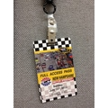 REVLAR™ 508 Series Lanyard Badge, 8 1/2in.(W) x 11in.(L) x 7.7 mil(T), 100 Sheets