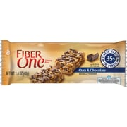 Fiber One Chewy Bars, Oats & Chocolate, 1.4 oz., 16 Bars/Box (GEM14562)