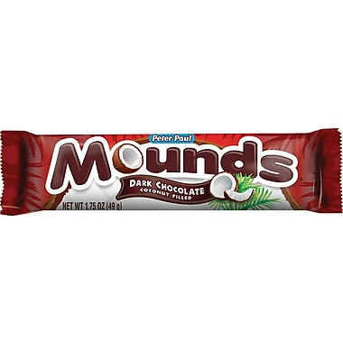 Mounds Candy Bars, 1.9 oz., 36 Bars/Box