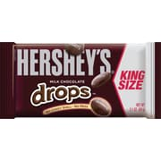 Hershey's® Milk Chocolate Drops King Size, 2.1 oz. Bar, 18 Bags/Box