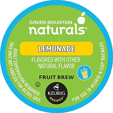 Keurig K-Cup Green Mountain Naturals Lemonade, 24/Pack