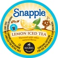 Keurig K-Cup Snapple Iced Tea, Lemon, 22/Pack