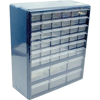 Trademark Tools™ Deluxe 42 Drawer Compartment Storage Box, 17in. H x 14 3/4in. W x 5 1/4in. D