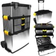 Trademark Tools™ Massive and Mobile 3-part Tool Box, 14in. L x 22 1/4in. W x 33in. H