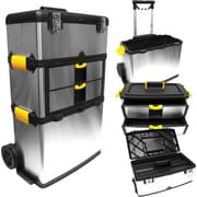 "Trademark Tools™ Massive and Mobile 3-part Tool Box, 14"" L x 22 1/4"" W x 33"" H"