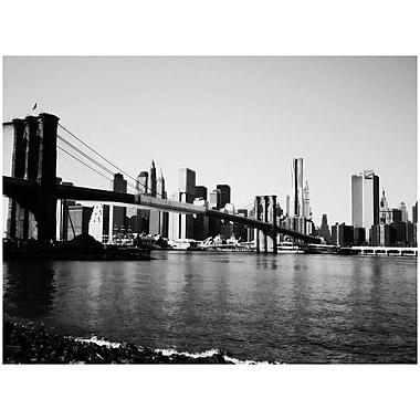 Trademark Global Ariane Moshayedi in.Brooklyn Bridge IIIin. Canvas Art, 30in. x 47in.