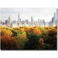 Trademark Global Ariane Moshayedi in.Fall Cityscapein. Canvas Art, 22in. x 32in.