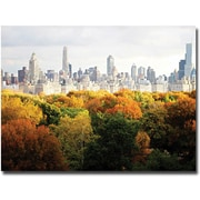 "Trademark Global Ariane Moshayedi ""Fall Cityscape"" Canvas Art, 30"" x 47"""