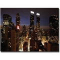 Trademark Global Ariane Moshayedi in.City Lightsin. Canvas Art, 30in. x 47in.