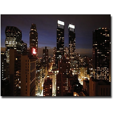 Trademark Global Ariane Moshayedi in.City Lightsin. Canvas Arts