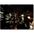 Trademark Global Ariane Moshayedi in.City Lightshowin. Canvas Art, 30in. x 47in.