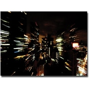 "Trademark Global Ariane Moshayedi ""City Lightshow"" Canvas Art, 16"" x 24"""