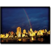 "Trademark Global Ariane Moshayedi ""City Rainbow"" Canvas Art, 22"" x 32"""