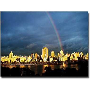 Trademark Global Ariane Moshayedi in.City Rainbow IIin. Canvas Arts