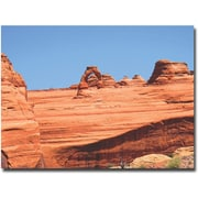 "Trademark Global Ariane Moshayedi ""Red Rock"" Canvas Art, 35"" x 47"""