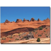 "Trademark Global Ariane Moshayedi ""Arches National Park"" Canvas Art, 35"" x 47"""