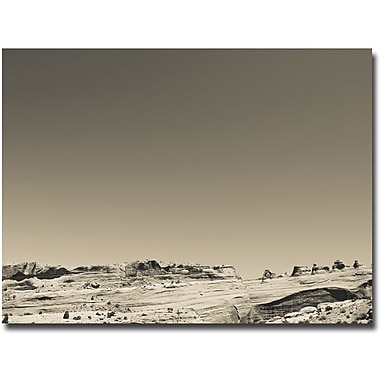 Trademark Global Ariane Moshayedi in.Black and White Archesin. Canvas Art, 35in. x 47in.