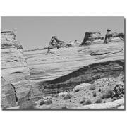 "Trademark Global Ariane Moshayedi ""Big Rocks"" Canvas Art, 22"" x 32"""