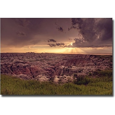 Trademark Global Ariane Moshayedi in.Badlands Sunsetin. Canvas Art, 30in. x 47in.