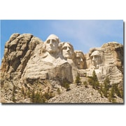 "Trademark Global Ariane Moshayedi ""Mount Rushmore"" Canvas Art, 16"" x 24"""