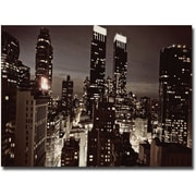 "Trademark Global Ariane Moshayedi ""NYC After Dark"" Canvas Arts"