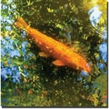 Trademark Global Amy Vangsgard in.Koi Fishin. Canvas Art, 18in. x 18in.