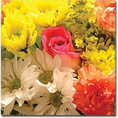 Trademark Global Amy Vangsgard in.Spring Bouquetin. Canvas Art, 35in. x 35in.