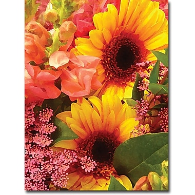 Trademark Global Amy Vangsgard in.Spring Bouquet IIin. Canvas Art, 35in. x 47in.