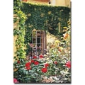 Trademark Global David Lloyd Glover in.Afternoon in the Rose Gardenin. Canvas Art, 30in. x 47in.