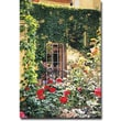 "Trademark Global David Lloyd Glover ""Afternoon in the Rose Garden"" Canvas Art, 30"" x 47"""