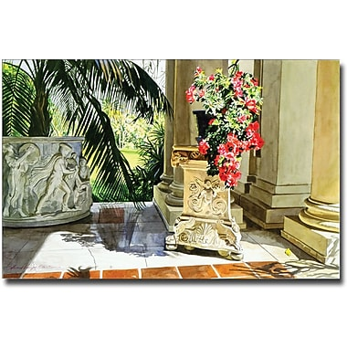Trademark Global David Lloyd Glover in.Azalea Classicin. Canvas Art, 22in. x 32in.