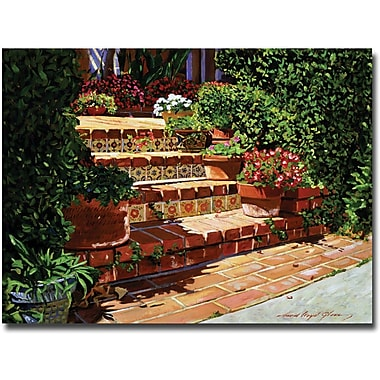 Trademark Global David Lloyd Glover in.A Spanish Gardenin. Canvas Arts