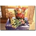 Trademark Global David Lloyd Glover in.Sunshine Rosesin. Canvas Art, 18in. x 24in.