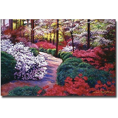 Trademark Global David Lloyd Glover in.April Beautiesin. Canvas Art, 22in. x 32in.