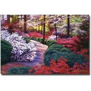 "Trademark Global David Lloyd Glover ""April Beauties"" Canvas Art, 30"" x 47"""