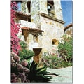 Trademark Global David Lloyd Glover in.Mission Carmel Bell Towerin. Canvas Art, 30in. x 47in.