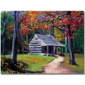 Trademark Global David Lloyd Glover in.Old Cabinin. Canvas Arts