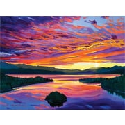 "Trademark Global David Lloyd Glover ""Paint Brush Sky"" Canvas Art, 35"" x 47"""